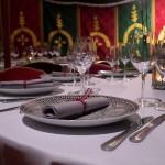 Les assiettes traditionnelles donnent le ton de votre fête orientale